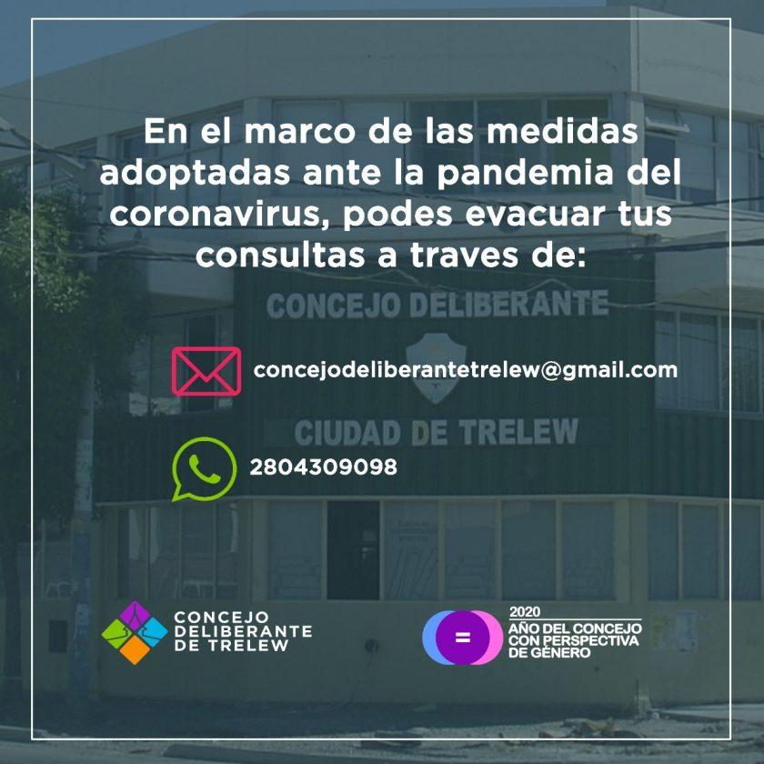 Banner Concejo Deliberante Trelew